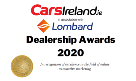 Cars Ireland dealership awards logo